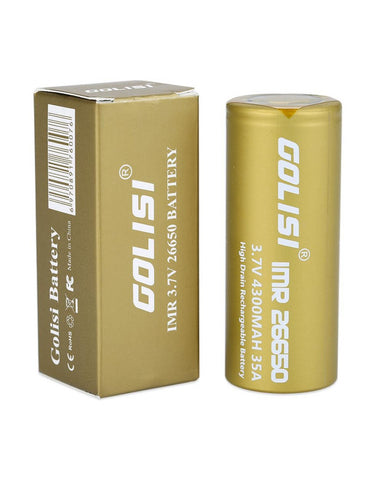 Golisi S43 - 26650 4300mAh 35A Rechargeable Battery
