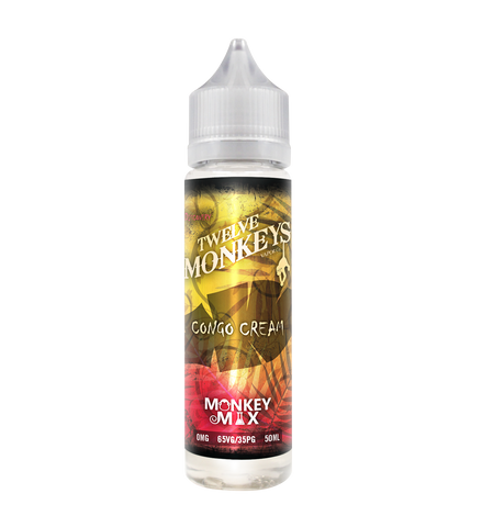 12 Monkeys Vapor Co - Congo Cream