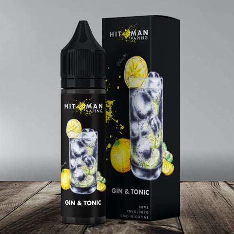 Hitman Vaping - Gin & Tonic