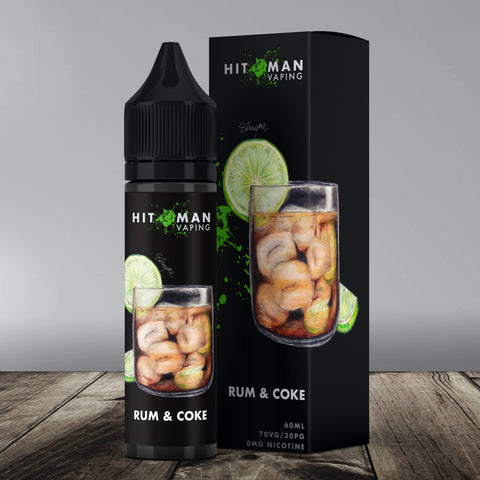 Hitman Vaping - Rum & Coke