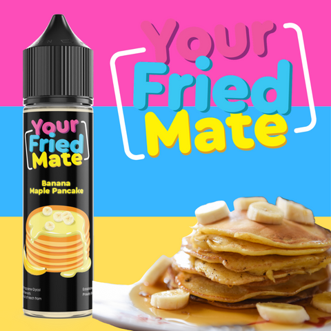Your Fried Mate - Banana Maple Pancakes