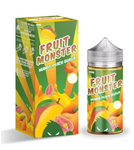 Fruit Monster Mango Peach Guava Australia - Monster Vape Lab e-liquids