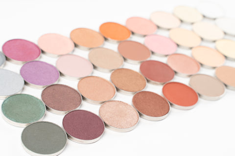 Pan Collection: Mineral Eyeshadow Pans (each pan sold separately)