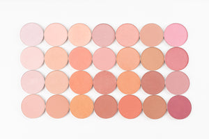 Pan Collection: Blush Mineral Blush: Matte and Shimmer Lights  (each pan sold separately)