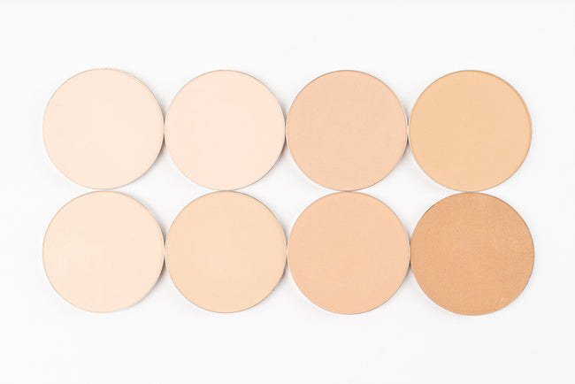 Pan Collection: Powder Mineral Face Powder Pans  (each pan sold separately)