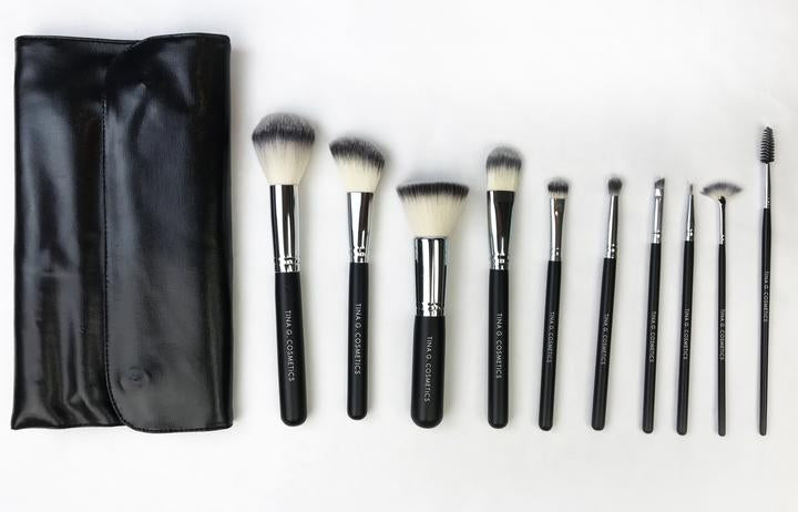 Brush: Professional 10 piece Brush Set