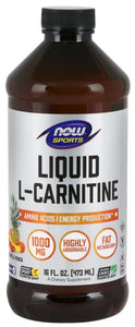 L-Carnitine Liquid 1000 mg, Tropical Punch | Amino Acids/Energy Production*