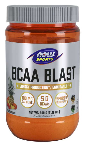 BCAA Blast Powder, Tropical Punch Flavor 600G | Energy Production* / Endurance