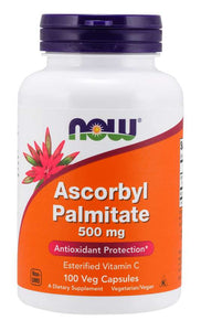 Ascorbyl Palmitate 500 mg Veg Capsules | Antioxidant Protection*