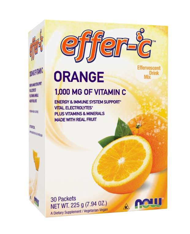 Effer-C™ Orange Packets | Effervescent Drink Mix