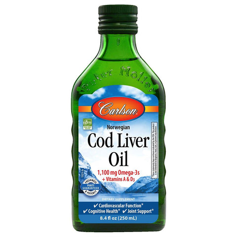 Cod Liver Oil Minis | 280 mg - Discount Nutrition Store