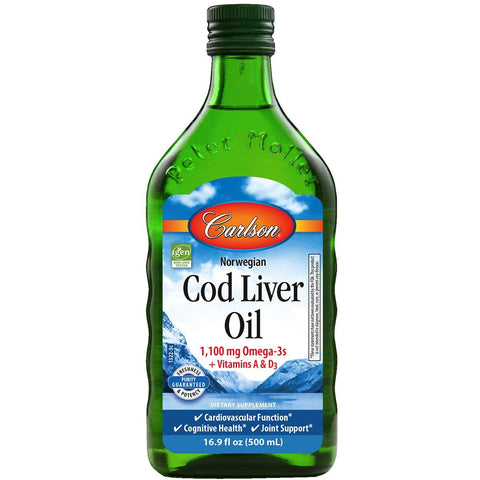 Cod Liver | Oil Liquid - Discount Nutrition Store