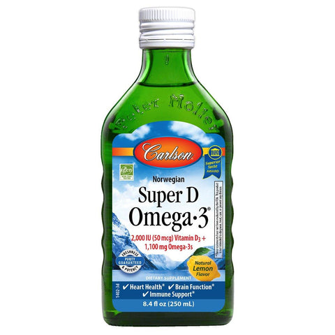 Super D Omega-3™ - Discount Nutrition Store