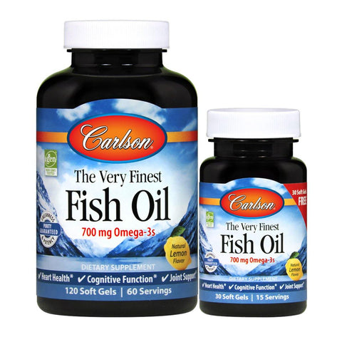 The Very Finest Fish Oil™ | 700 mg of omega-3s - Discount Nutrition Store