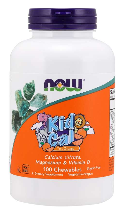Kid Cal Chewables | Tart Orange