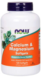 Calcium & Magnesium Softgels Supports | Bone Health*