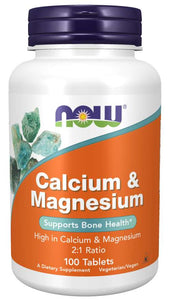 Calcium & Magnesium Tablets | Supports Bone Health*