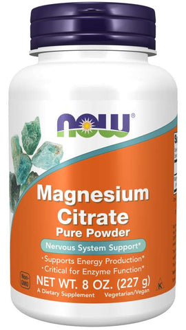 Magnesium Citrate Pure Powder  | Nervous System Support*