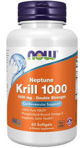Neptune Krill, Double Strength 1000 mg Softgels | Cardiovascular Support*