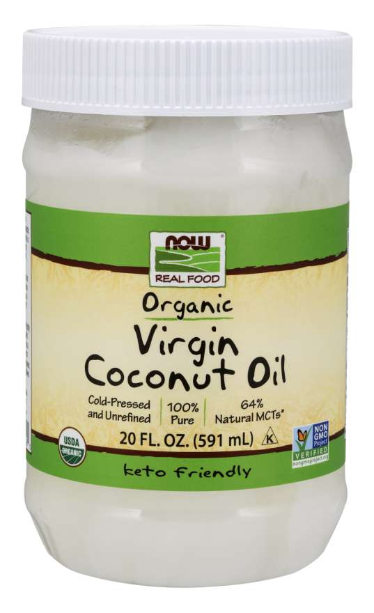 Virgin Coconut Cooking Oil, Organic | Cold-Pressed and Unrefined