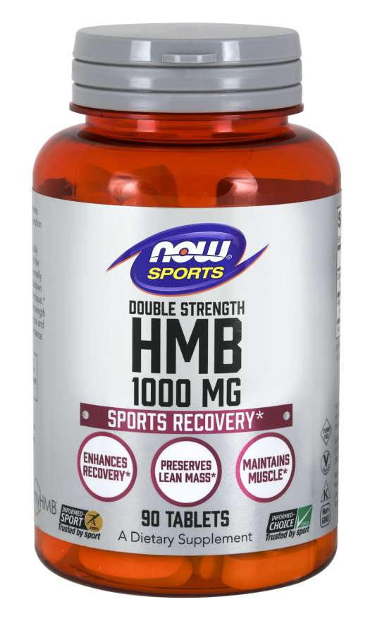 HMB, Double Strength 1000 mg Tablets | Sports Recovery*