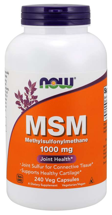 MSM 1000 mg Veg Capsules | Joint Health*