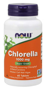 Chlorella 1000 mg Tablets | Super Green