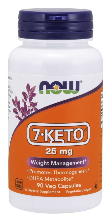 7-KETO® 25 mg Veg Capsules | Weight Management*