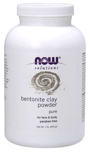 NOW - Bentonite Clay Powder | 1 lb