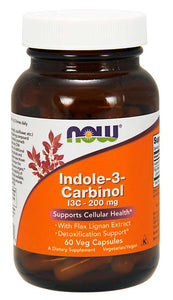 Indole-3-Carbinol (I3C) 200 mg Veg Capsules | Supports Cellular Health*