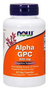 Alpha GPC 300 mg Veg Capsules Cognitive Support*