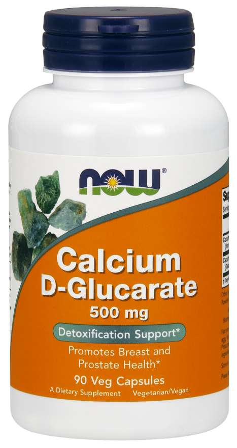Calcium D-Glucarate 500 mg Veg Capsules | Detoxification Support*
