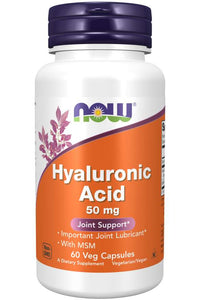 Hyaluronic Acid with MSM Veg Capsules | Joint Support*