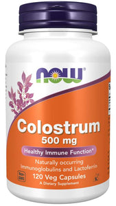 Colostrum 500 mg Veg Capsules Healthy | Immune Function*