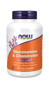 Glucosamine & Chondroitin with Trace Minerals Veg Capsules | Joint Health*