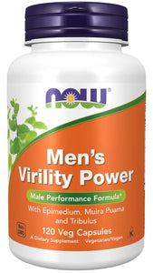 Men's Virility Power Veg Capsules | Male Performance Formula*