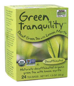 Green Tranquility™ Tea, Organic |  Decaf Green Tea with Lemon Myrtle