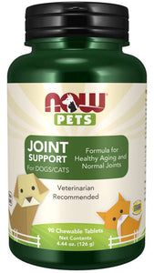Joint Support Chewable Tablets for Dogs & Cats | Formula for Healthy Aging and Normal Joints