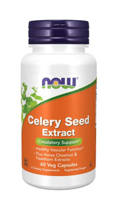 Celery Seed Extract Veg Capsules Circulatory Support*