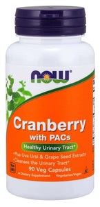Cranberry with PACs Veg Capsules | Healthy Urinary Tract*