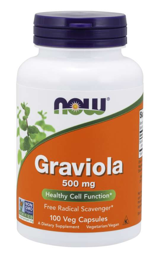 Graviola 500 mg Veg Capsules Healthy | Cell Function*