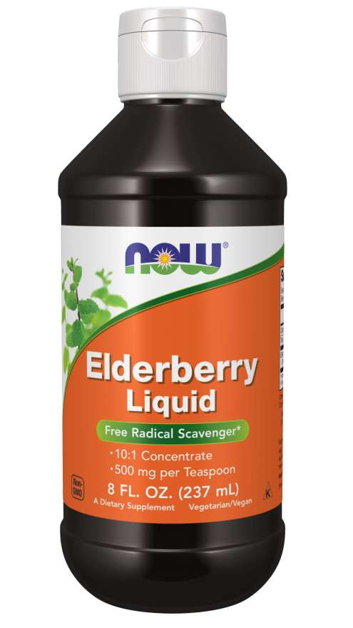 Elderberry Liquid | Free Radical Scavenger*