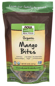NOW - Mango Bites, Organic | 8 oz