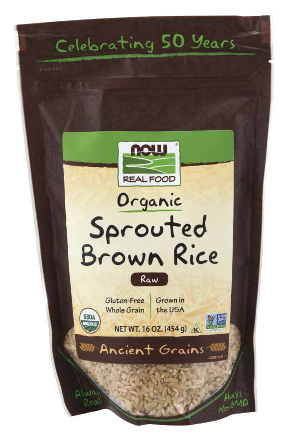 Sprouted Brown Rice, Organic | Raw