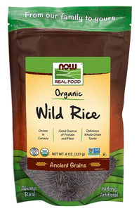 Wild Rice, Organic | Good Source of Protein and Fiber