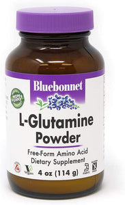 Bluebonnet L-Glutamine Powder, 4 Oz