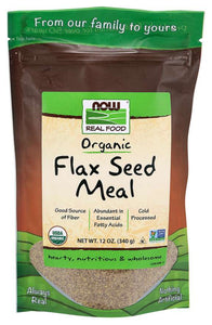 Flax Seed Meal, Organic | Abundant in Essential Fatty Acids