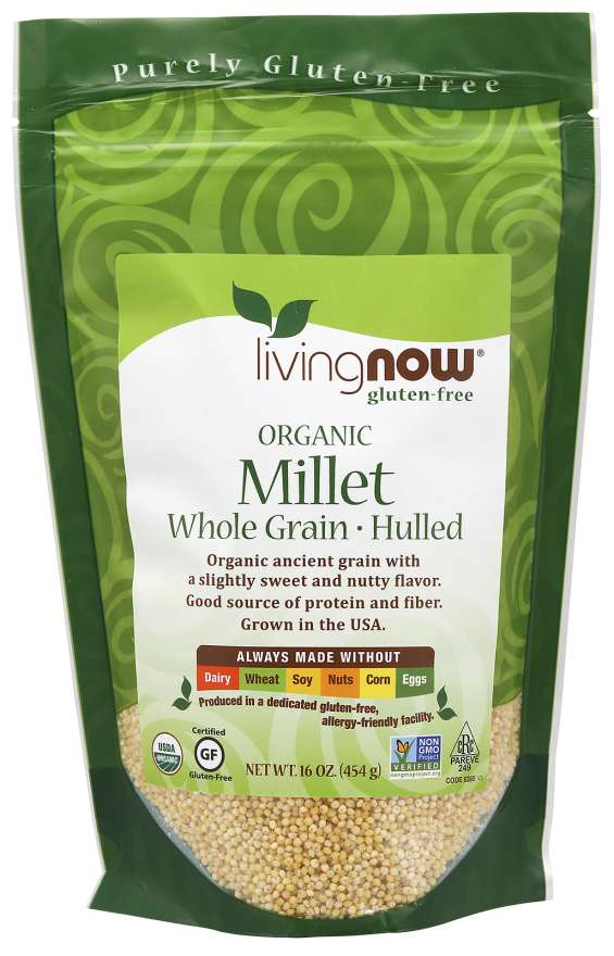 Millet, Organic | Good source of protein and fibe