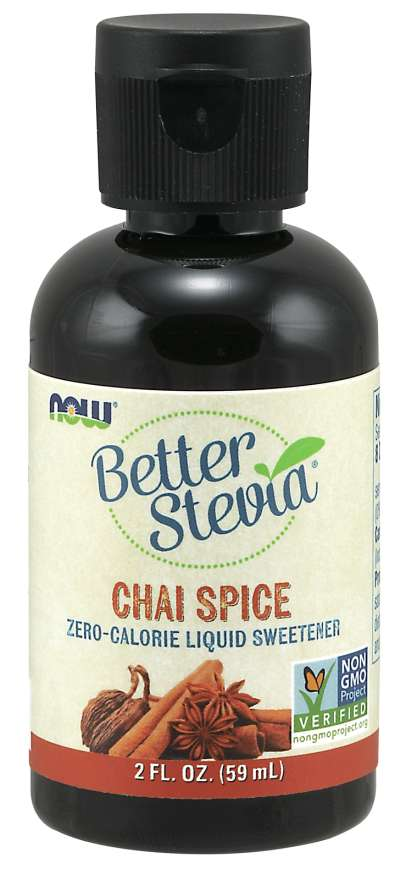 NOW - BetterStevia® Liquid, Chai Spice | 2 oz