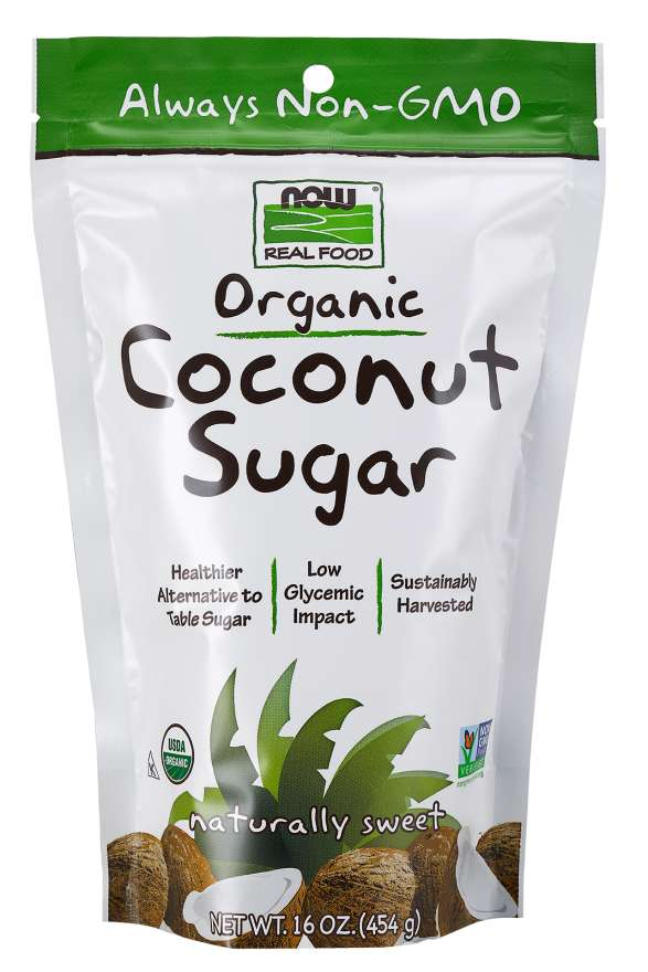 Coconut Sugar, Organic | A Healthier Alternative to Table Sugar